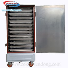 Tủ nấu cơm công nghiệp 12 khay dùng điện