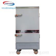 Tủ nấu cơm công nghiệp 10 khay dùng điện Trung Quốc