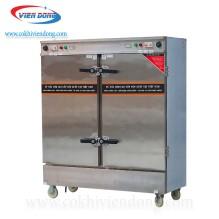 Tủ nấu cơm 2 cửa 24 khay dùng điện Việt Nam