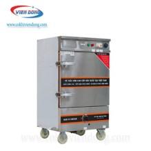Tủ hấp bánh flan 6 khay bằng gas và điện