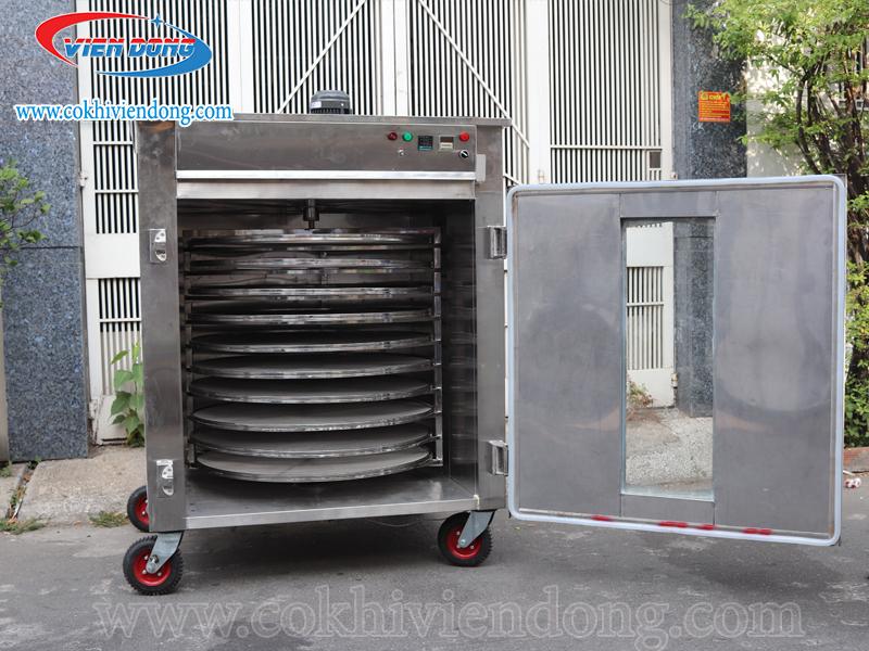 Đặc điểm của máy sấy nông sản 10 khay