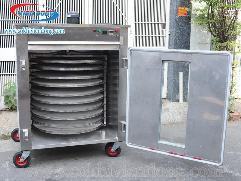 Giới thiệu về máy sấy nông sản 10 khay