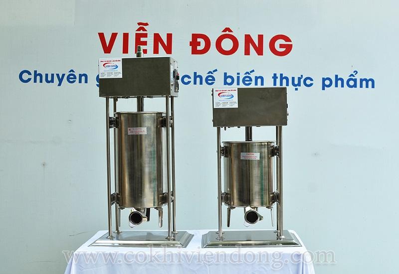 Máy nhồi xúc xích điện ETV-10 và ETV-15