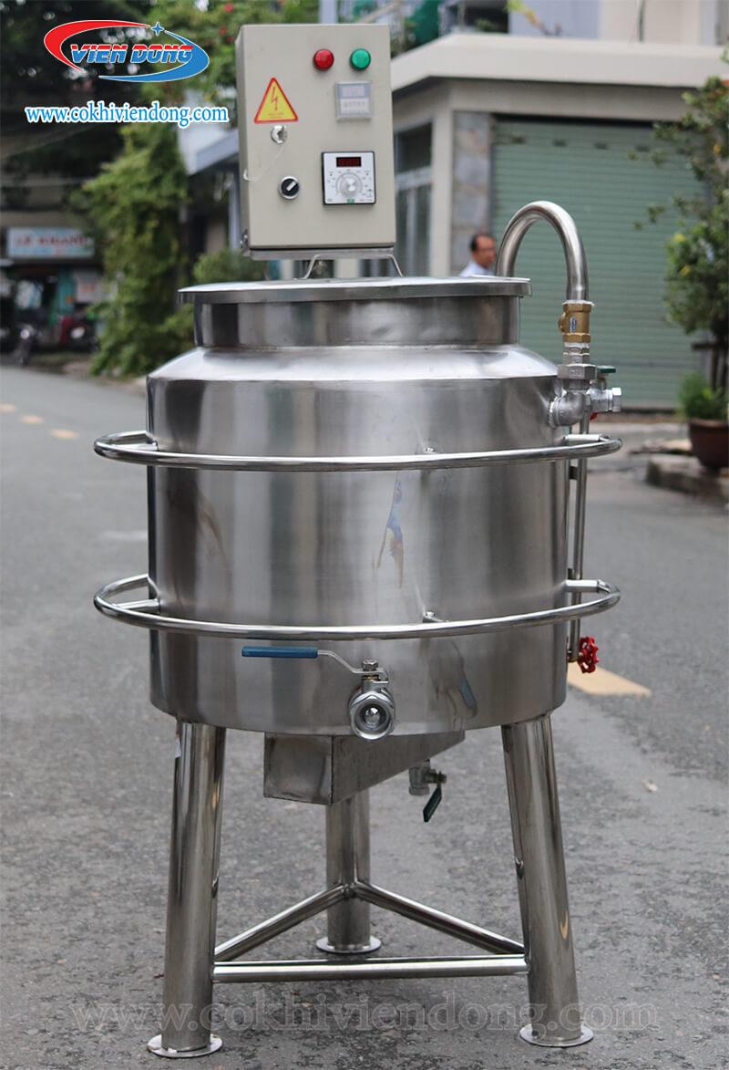Giới thiệu về nồi nấu sữa đậu nành dùng điện 150L Viễn Đông