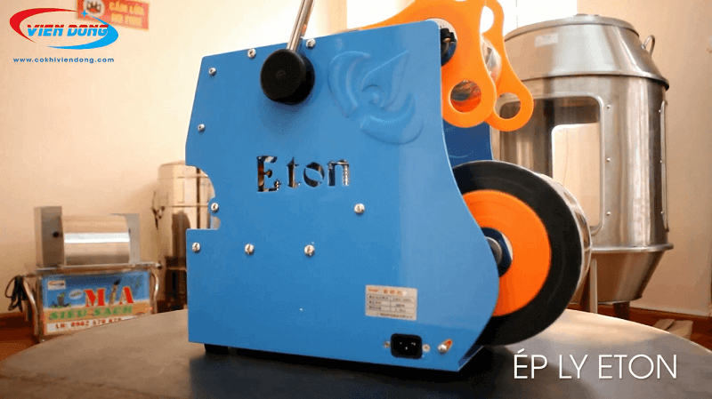 Máy dán miệng cốc ETON D6
