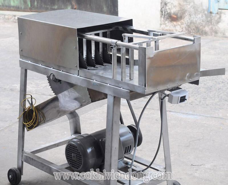 Máy cắt nước đá 6 lưỡi tay kéo