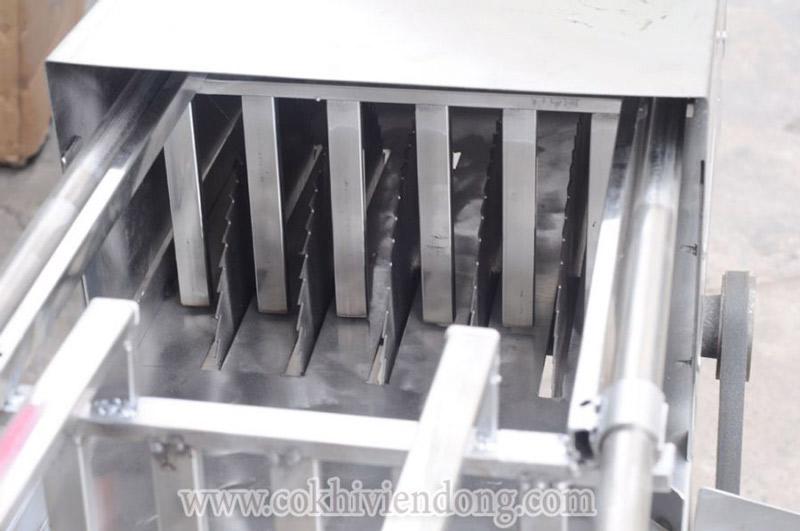 Máy cắt đá tay kéo 5 lưỡi mô tơ mới