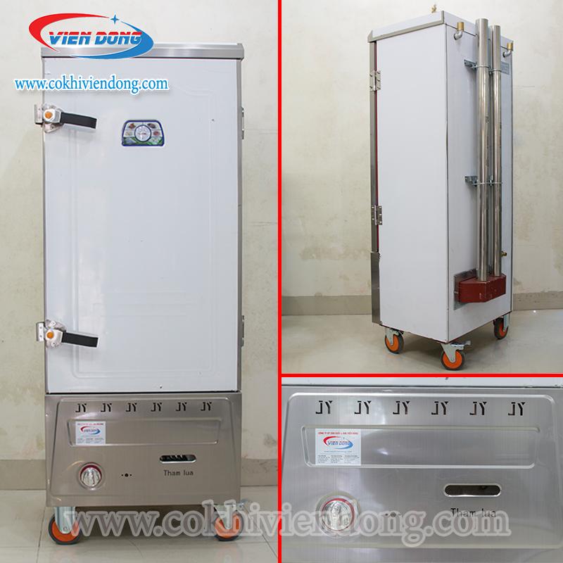 Tủ hấp giò chả dùng gas Trung Quốc