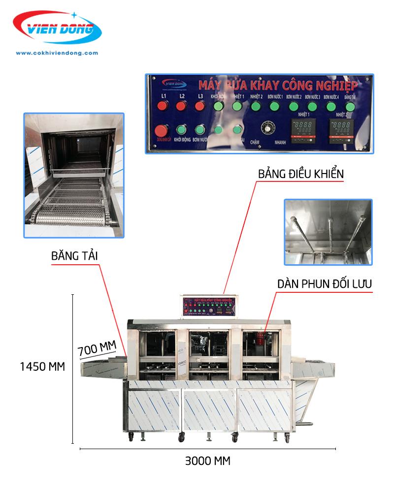 máy rửa bát công nghiệp Hawking VNC 300