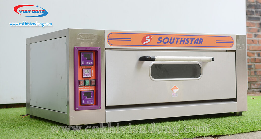 Lò nướng bánh gato dùng điện 1 tầng 2 khay Southstar