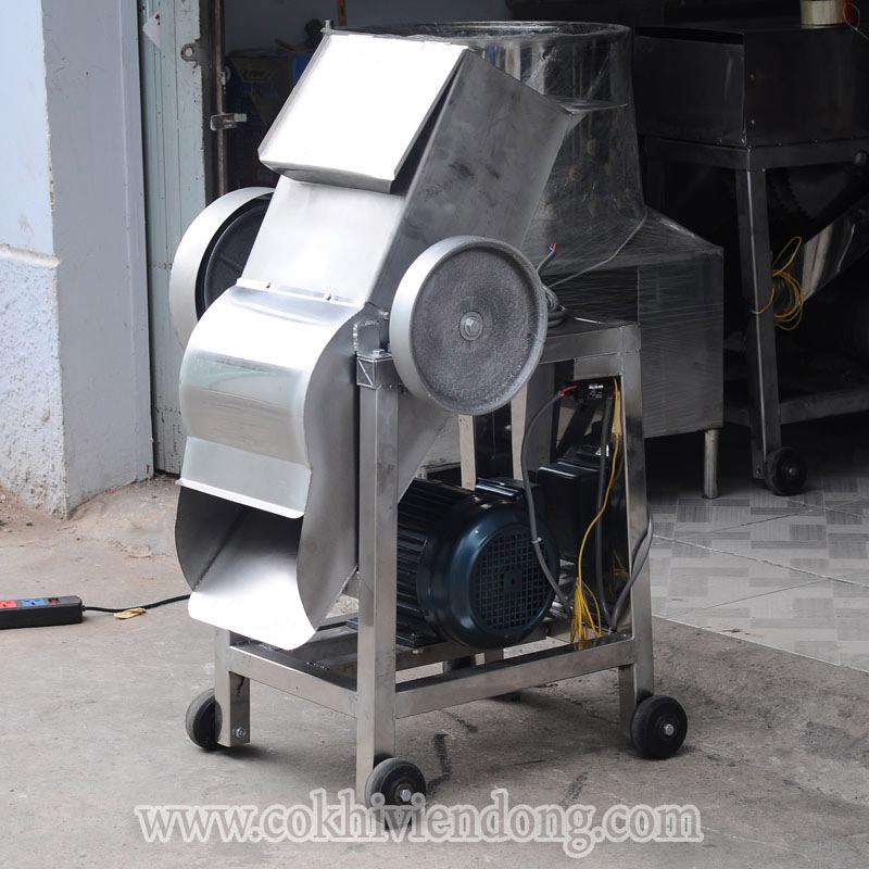 Máy xay nước đá cây công nghiệp INOX 201
