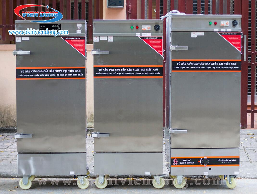 Tủ hấp giò chả dùng điện và điện gas Việt Nam