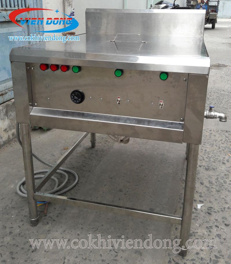 Bếp chiên nhúng công nghiệp đặt hàng