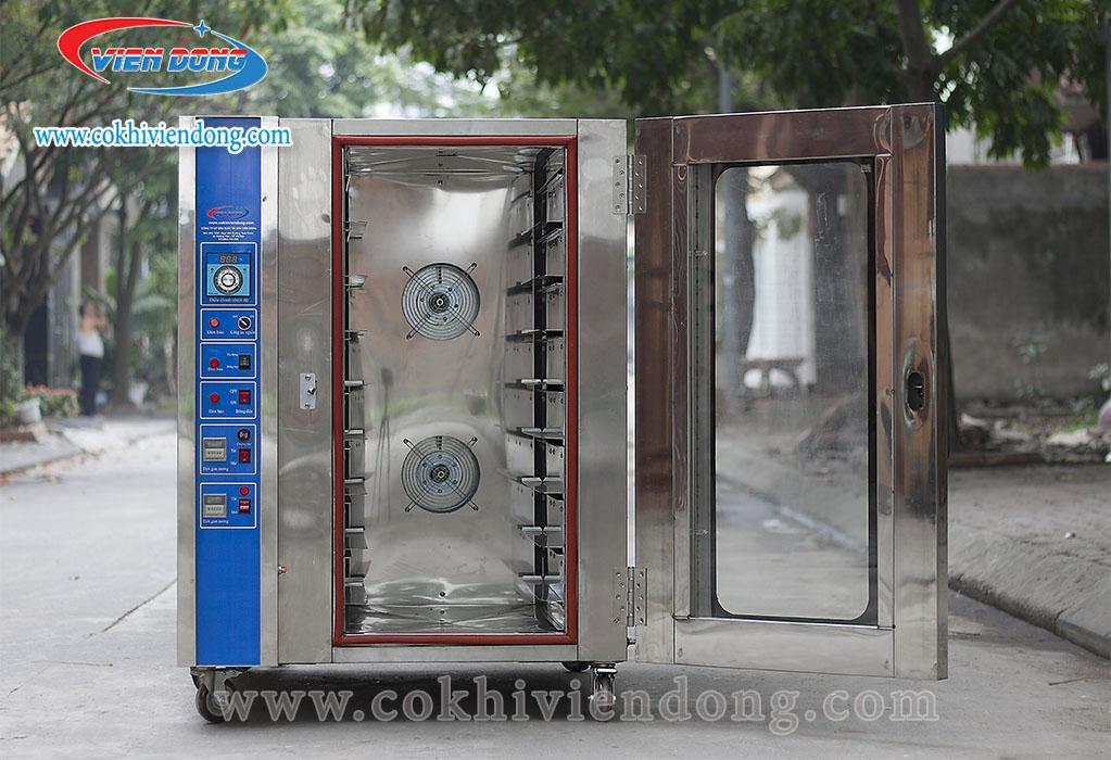 Lò nướng bánh mì đối lưu 8 khay Việt Nam
