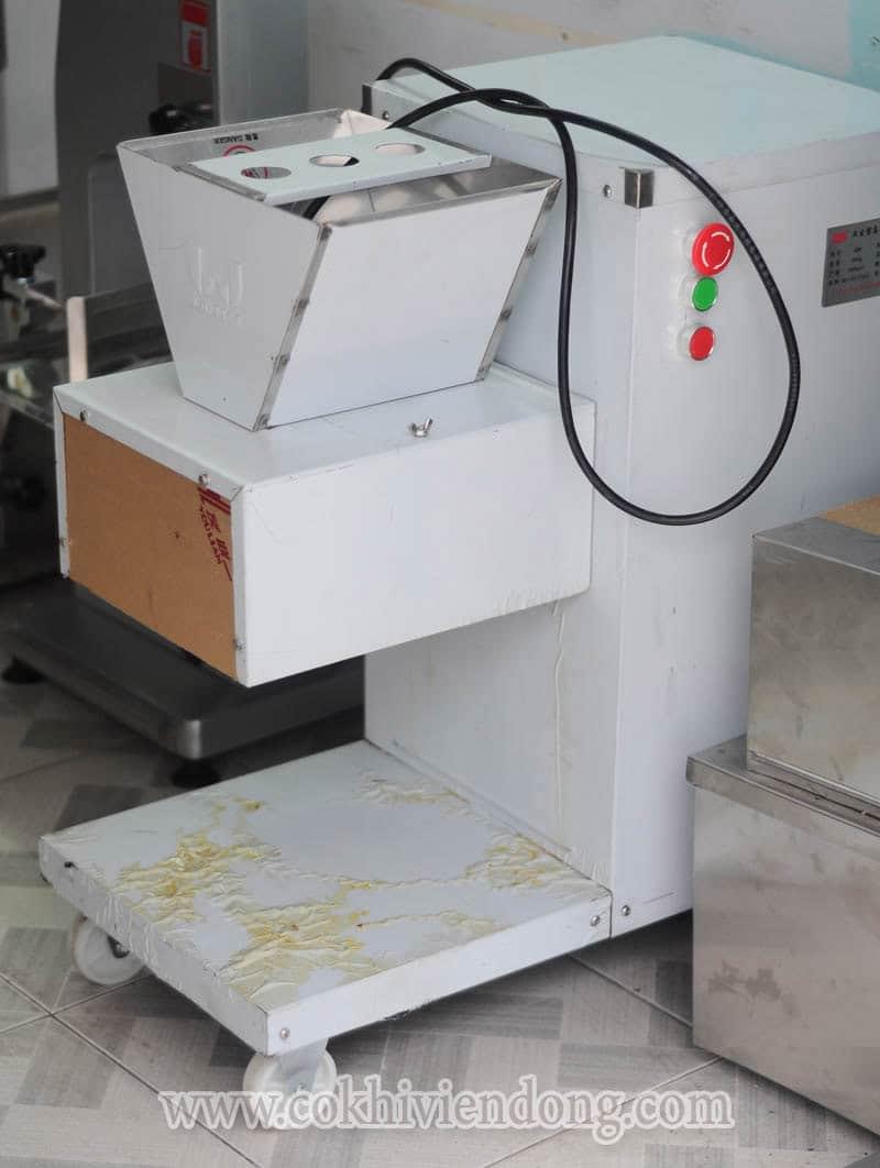 Máy cắt thịt thay dao công nghiệp QW
