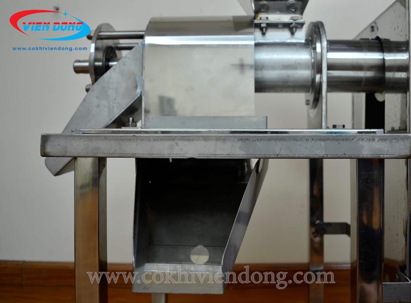 Máy ép nước cốt dừa công nghiệp (motor cũ)