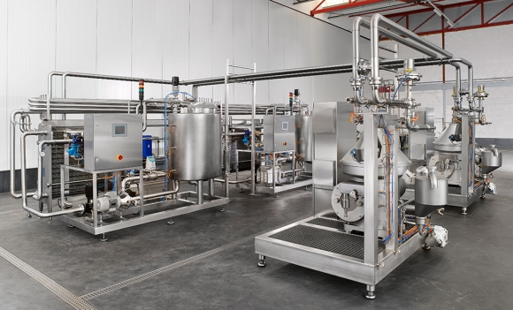 Nhà máy sản xuất sữa tiệt trùng