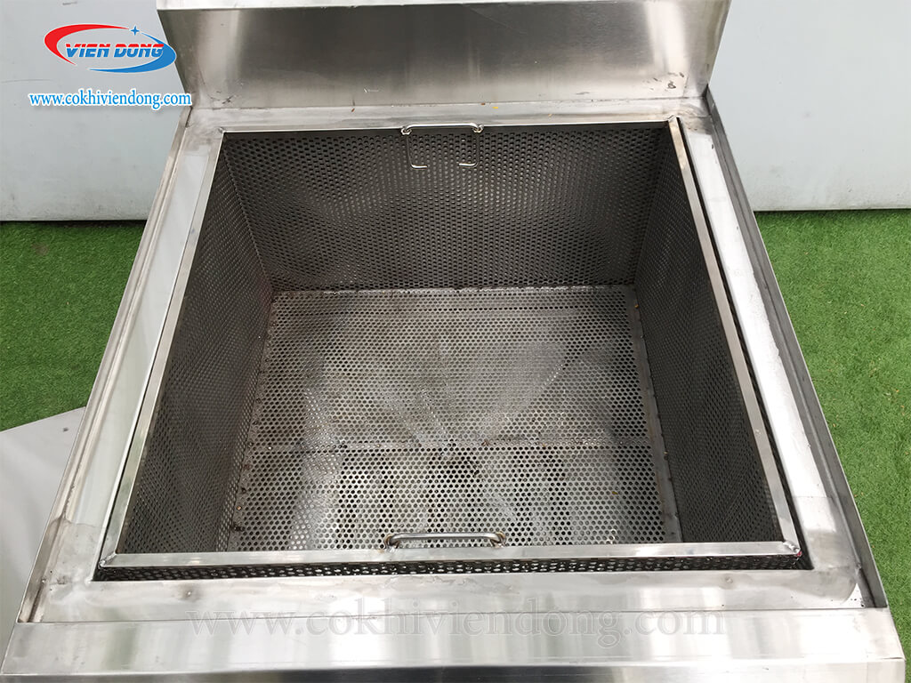 Bếp chiên công nghiệp đơn