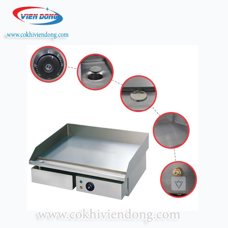 bếp chiên phẳng có nhiều ưu điểm trong thiết kếbếp chiên phẳng có nhiều ưu điểm trong thiết kế