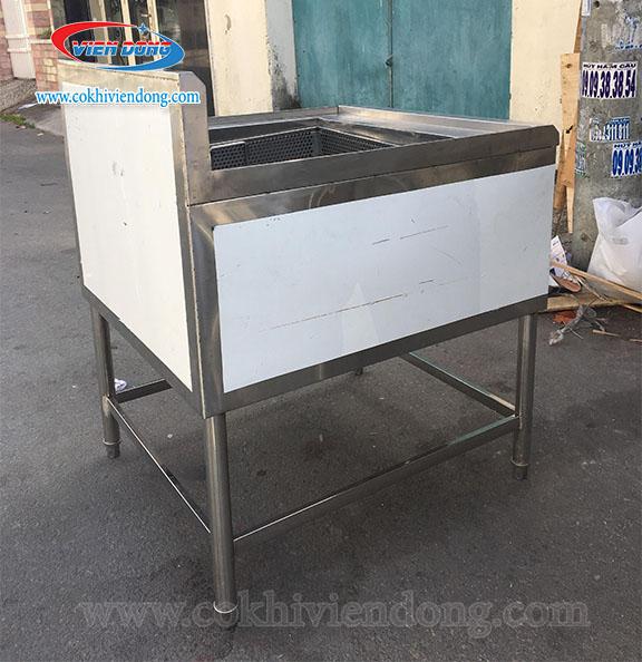 Bếp chiên công nghiệp bằng điện