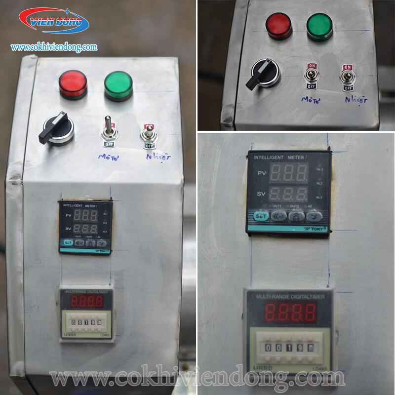 Máy rang ruốc dùng điện