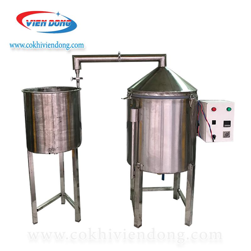 Nồi nấu rượu điện 50kg/ mẻ