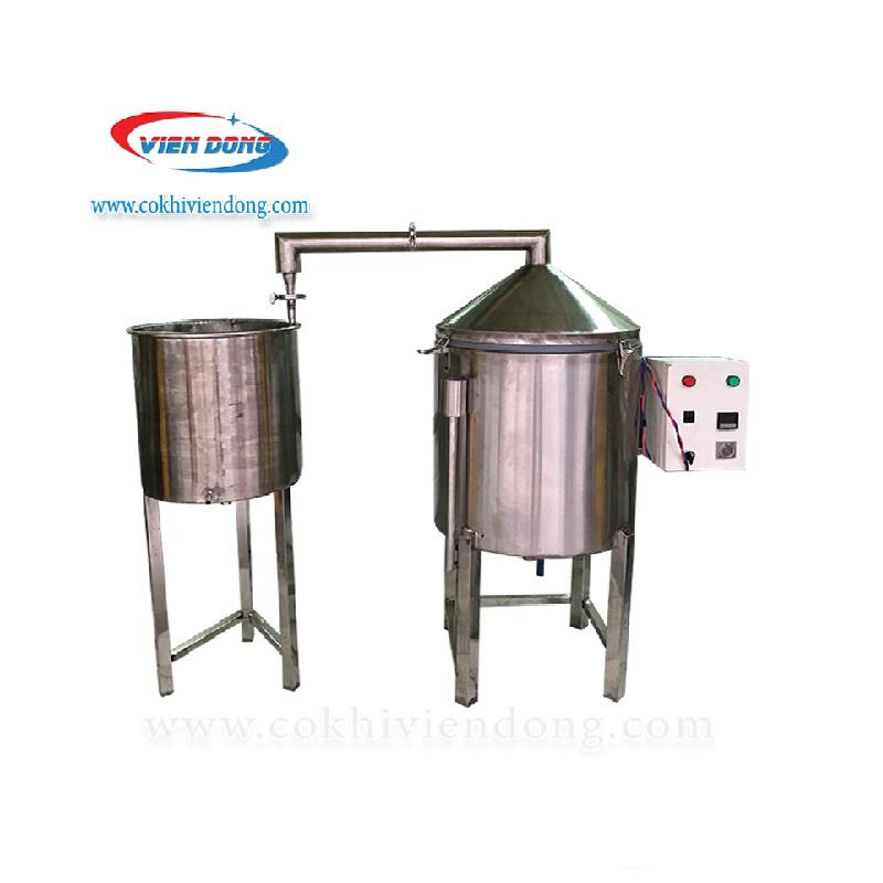 Nồi nấu rượu điện 20kg/ mẻ