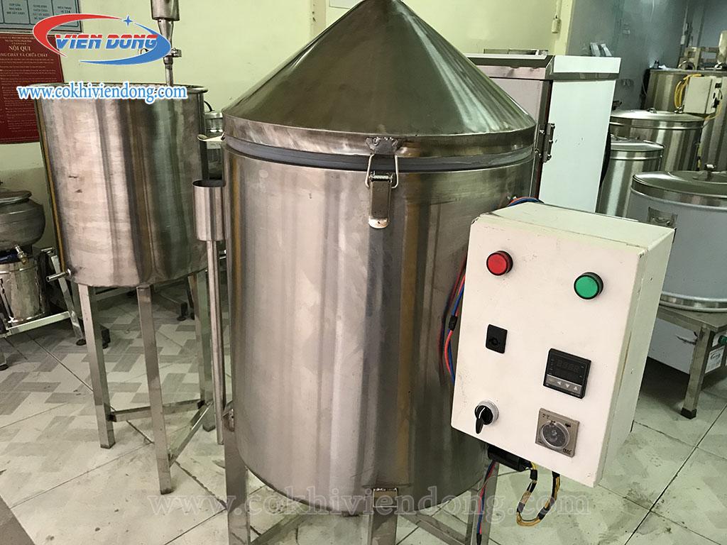 Nồi nấu rượu điện 30kg/ mẻ