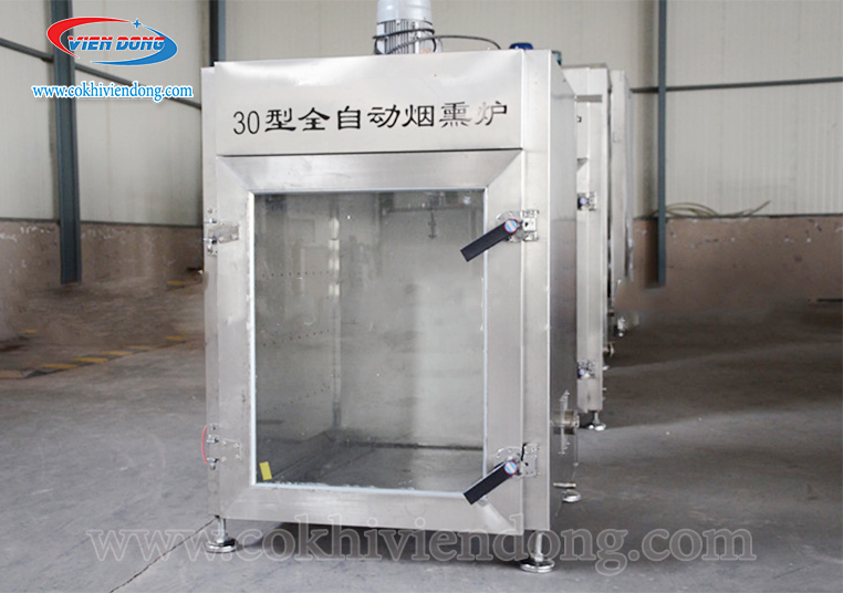 Tủ xông khói xúc xích 30kg/ mẻ