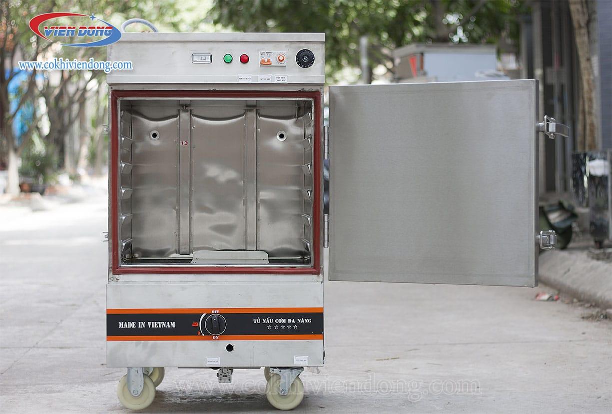 tủ nấu cơm sử dụng gas