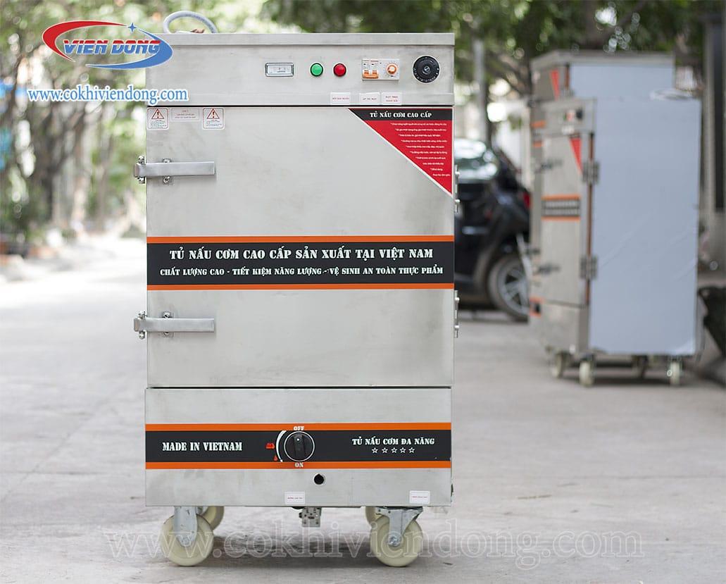 Tủ hấp công nghiệp bằng điện và Gas