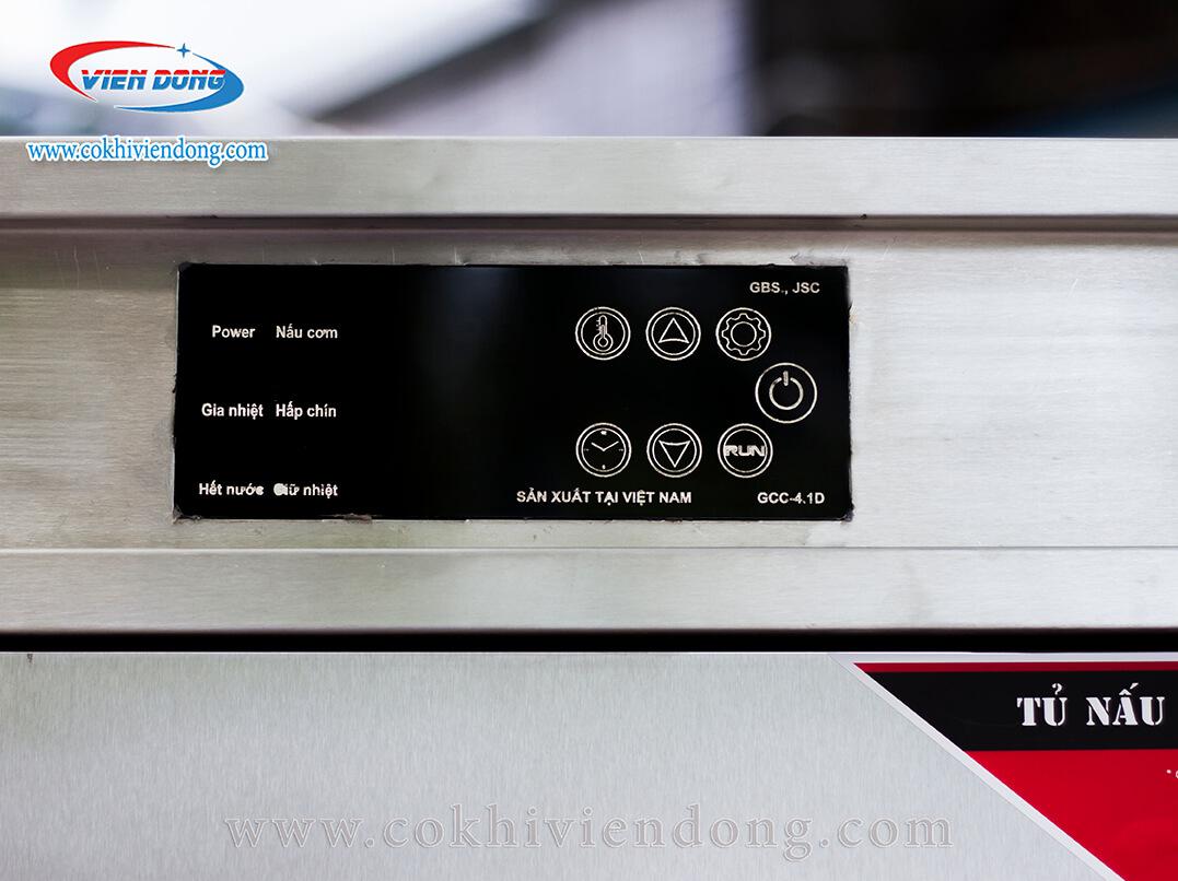 Tủ nấu cơm công nghiệp bằng điện