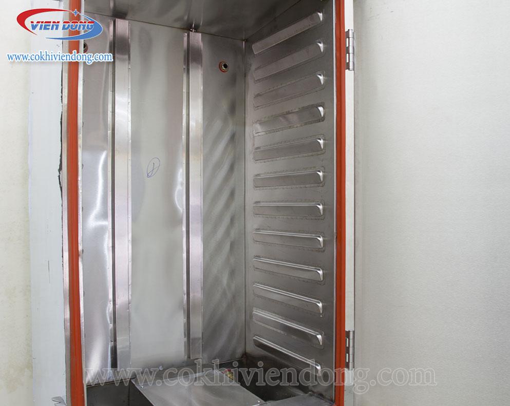 Tủ hấp công nghiệp 12 khay Việt Nam (nấu 30Kg gạo/lần)