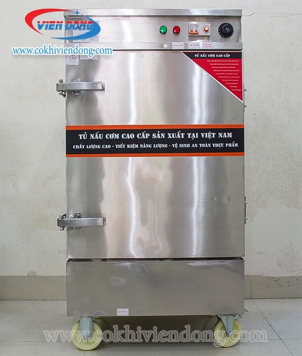 Tủ hấp công nghiệp 8 khay Việt Nam