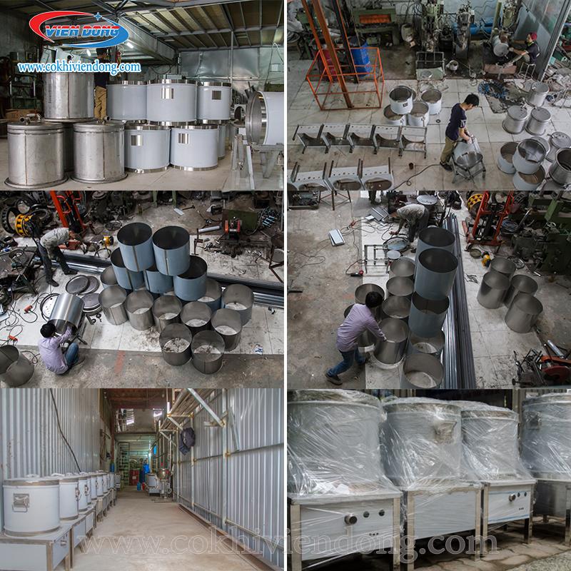 công nghệ sản xuất máy của Viễn Đông