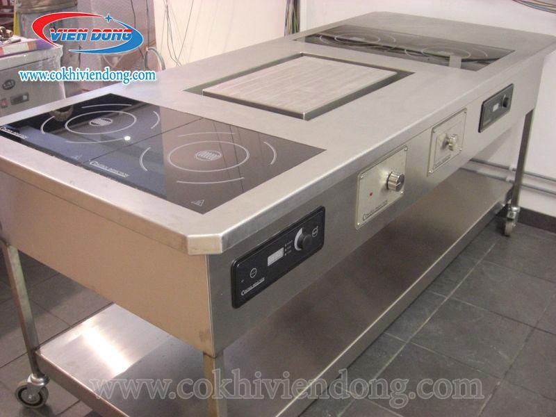 Bếp điện từ công nghiệp có điểm gì nổi bật?