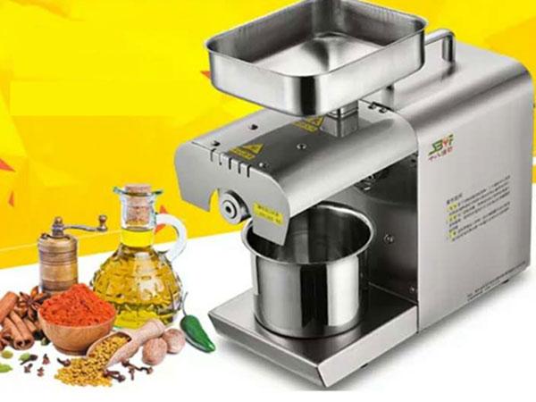 máy ép dầu thực vật mini