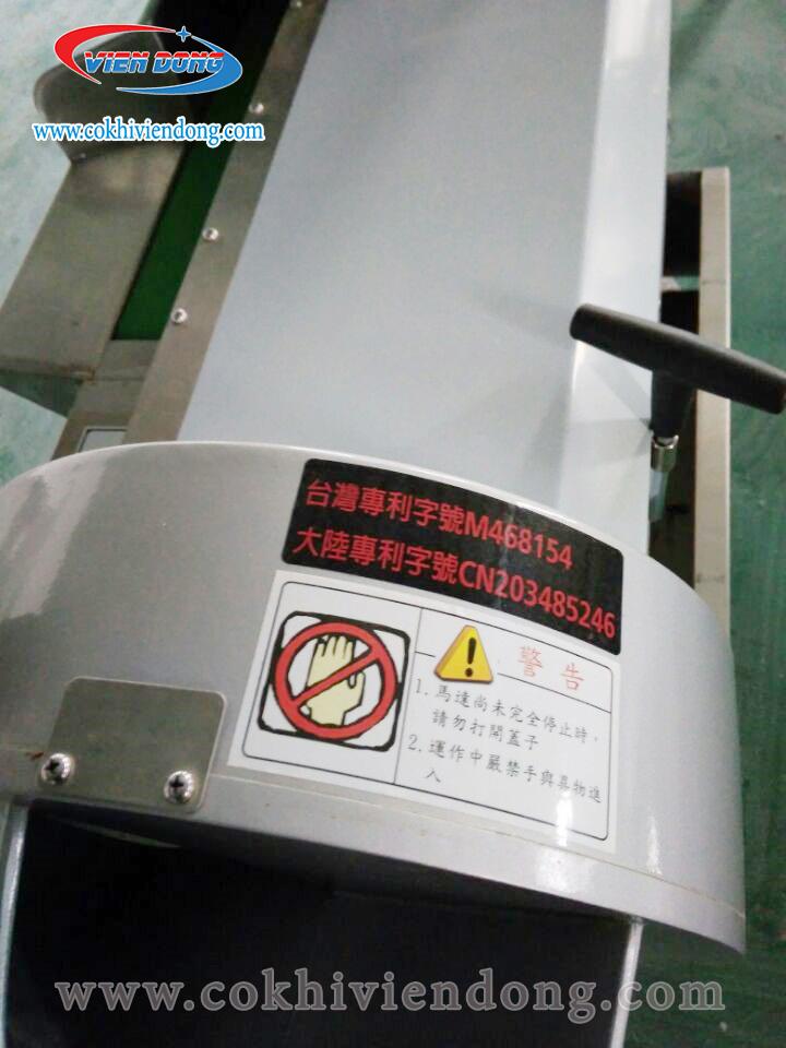 Máy thái rau củ hai đầu DQC- 801
