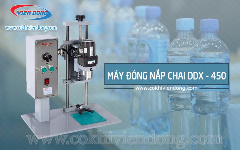 Máy đóng nắp chai DDX - 450