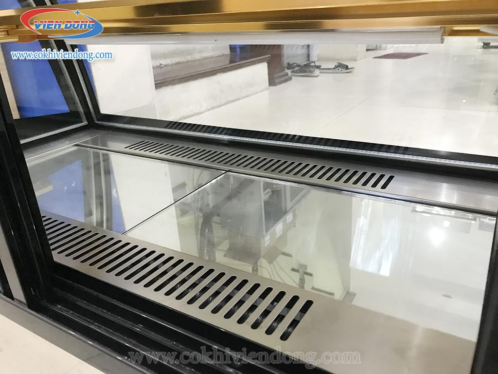 tủ kính trưng bày