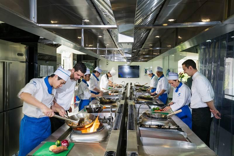 Khu vực nấu chính