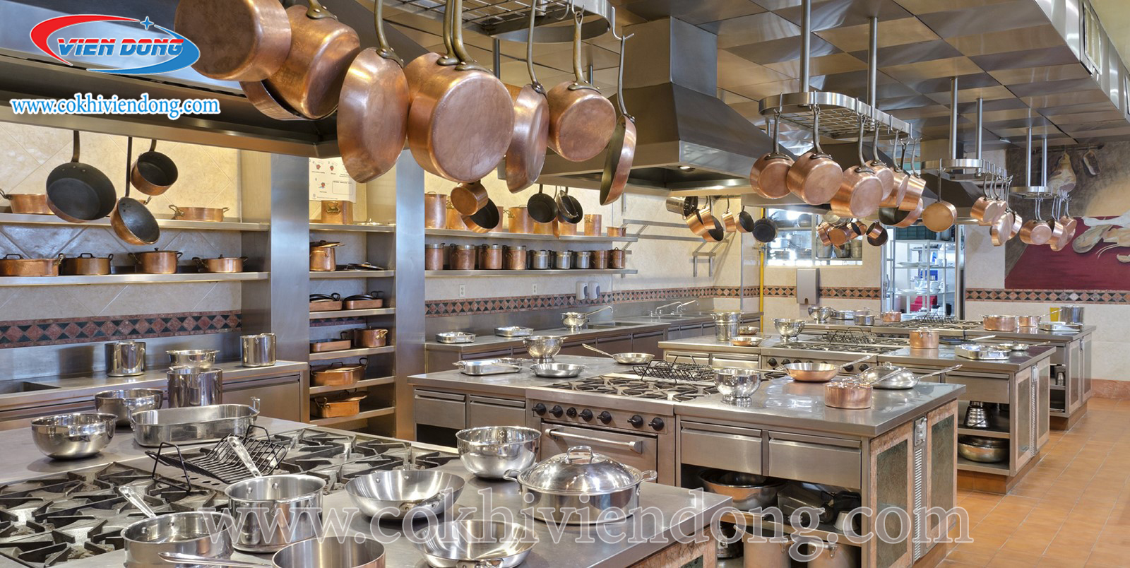 Bếp âu là gì? - Thiết bị bếp Âu công nghiệp Viễn Đông