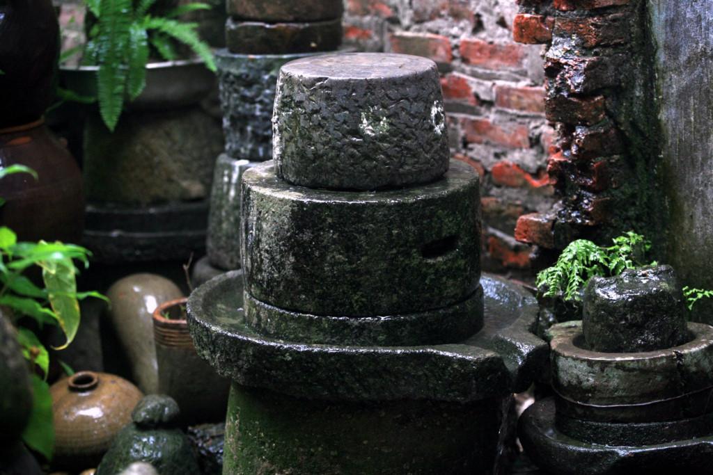 Cối đá xay đậu nành