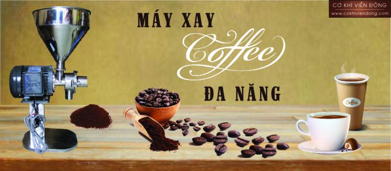 Cách xay cafe hạt