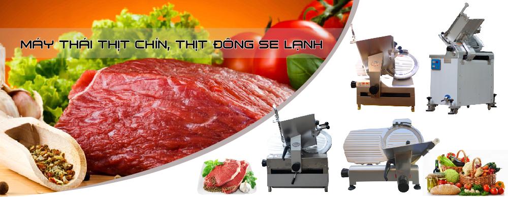 Sửa máy thái thịt chín, sửa máy thái thịt đông lạnh