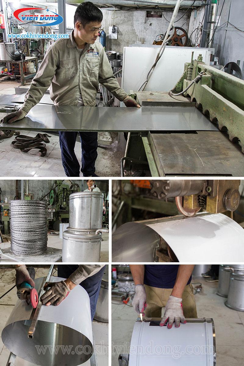 Sản xuất nồi nấu phở Viễn Đông