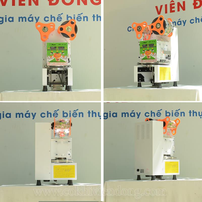 Máy dán miệng ly tự động ET H2