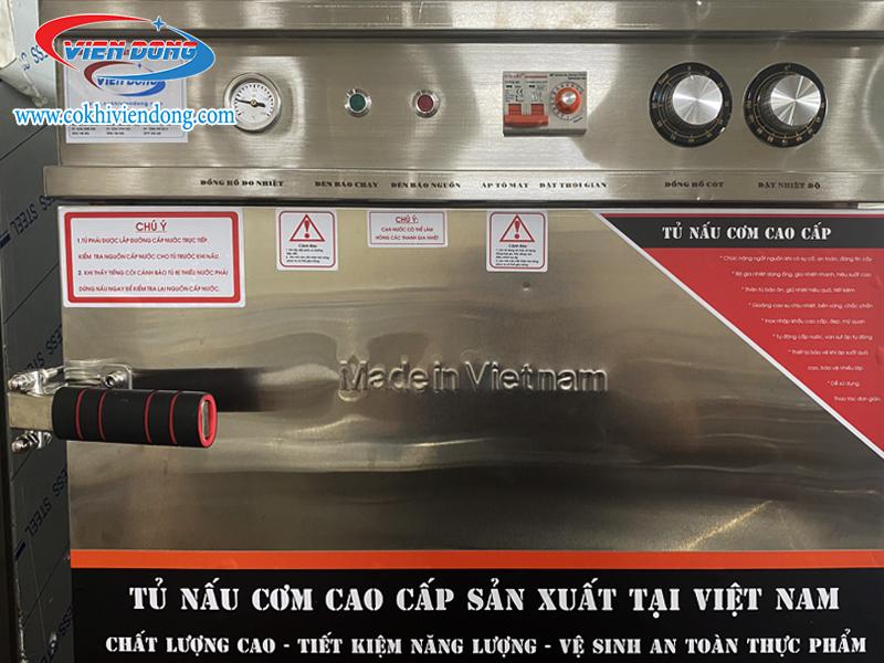 tủ nấu cơm công nghiệp - máy nấu cơm công nghiệp