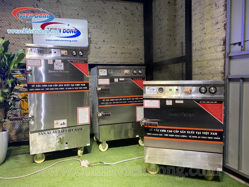 TỔNG HỢP Tủ nấu cơm công nghiệp Việt Nam