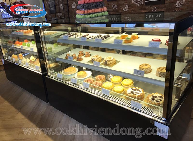tủ trưng bày bánh kem thanh lý